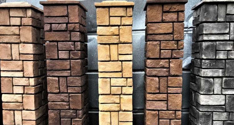 Изготовление декоративных заборных блоков в Тюмени